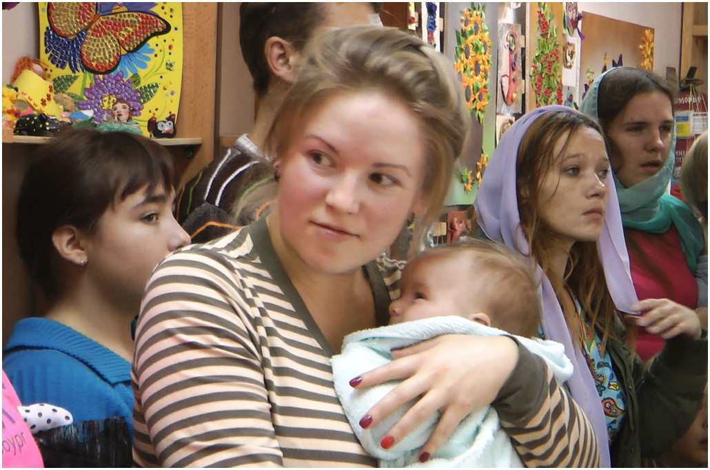 Святое крещение на сибирской земле