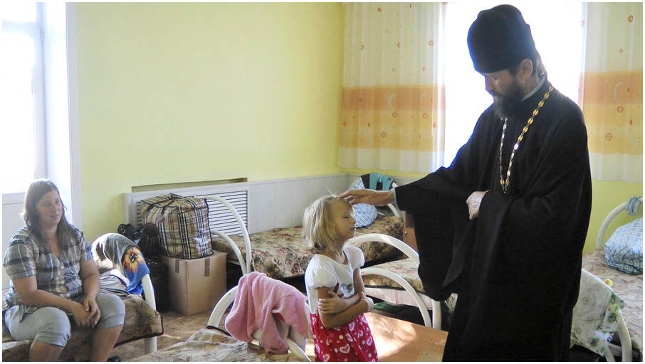 Дела милосердные - помощь беженцам с Украины